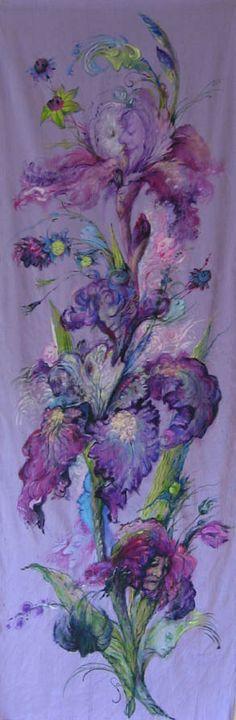 Fabric art by Sofiya Inger