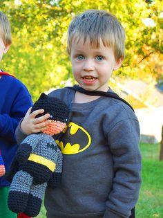 Ravelry: My Hero Batman pattern by Melissa Mall
