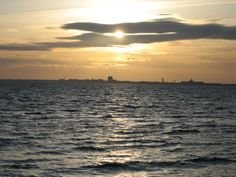 View of Kalmar from Öland