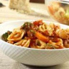 Tortellini-Vegetable Toss