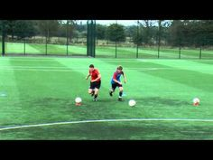 Coerver Coaching with Stoke City - Part 2
