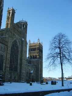 Durham City is so picturesque in winter.