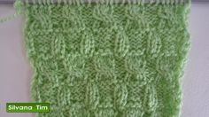 Marixa González shared a video Knitting Help, Knitting Videos, Arm Knitting, Knitting Stitches, Baby Sweater Patterns, Lace Knitting Patterns, Stitch Patterns, Crochet Designs, Knitting Designs
