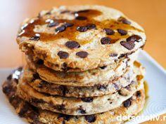 Søk etter oppskrifter | Det søte liv Chocolate Chip Pancakes, Scones, Granola, Chips, Sweets, Cookies, Baking, Breakfast, Desserts