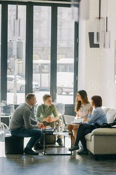Young people in a business meeting by Aleksandra Jankovic Photography Office, Corporate Photography, Group Photography, People Photography, Photography Business, Office Meeting, Office Team, Business Meeting, Corporate Portrait