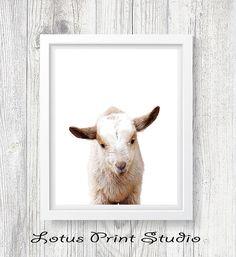 Lamb Print Nursery Decor Digital Download Kids Room Poster