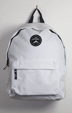 Image of White Crest Backpack