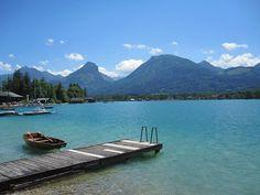 Lake Wolfgangsee, Austria | Wolfgangsee Austria. Photograph by Stuart Meldrum - Wolfgangsee ...