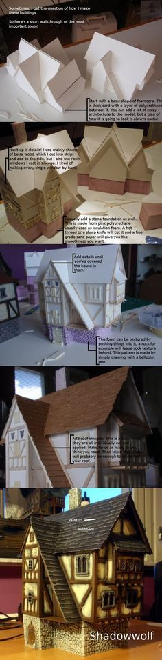 Building Walkthrough by dlshadowwolf. Of course, you can make this in 1:35 scale just as well.
