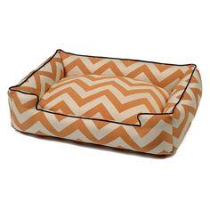 Jax and Bones Spellbound Orange Premium Cotton Blend Lounge Bed