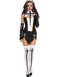 naughty nun halloween costume   Halloween Costumes / Adult Costumes / Womens Costumes / New for 2013 ...