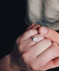 """""""The best thing to hold onto in life is each other."""" –Audrey Hepburn  Find your forever with Simon G. Jewelry from Charleston Alexander."""