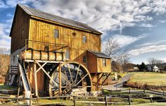 Wade's Grist Mill - Virginia