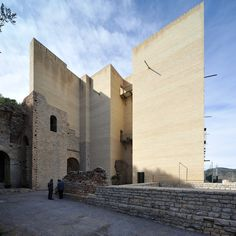 Teatro Romano di Sagunto, Valencia Spain | Giorgio Grassi and Manuel Portaceli (1985-86) (1990-93) | Visit site for more ...