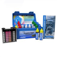 Pool Water Testing and Kits 181059: Taylor K-2005 Complete Chlorine Bromine Dp Test Kit For Swimming Pool -> BUY IT NOW ONLY: $47.95 on eBay!