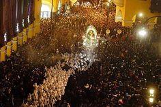 Señor de los Milagros, Lima Peru