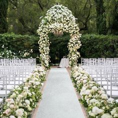Wedding Ceremony Ideas, Wedding Aisle Decorations, Classy Wedding Ideas, Beautiful Wedding Venues, Dream Wedding, Outdoor Wedding Venues, Wedding Lounge, Modern Wedding Inspiration, Wedding Stuff