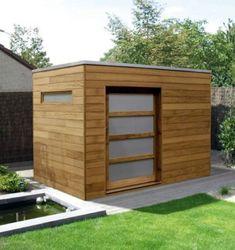 Garden Sheds Uk, Backyard Sheds, Outdoor Sheds, Garden Gear, Modern Backyard, Contemporary Sheds, Modern Shed, Shed Design Plans, Shed Plans