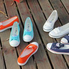Beier. Zapatos de lona ocasionales de mujeres, los zapatos bajos para ayudar en el verano fresco. Zapatos casuales Lynx