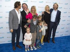 The Hawn fam: Oliver Hudson, Kurt Russell, Goldie, Wyatt Russell and Kate in May. Kate Hudson Family, Goldie Hawn Kurt Russell, Grandchildren Pictures, Oliver Hudson, Hollywood Couples, Perfect Together, Charity Event, Family Affair, Ex Husbands