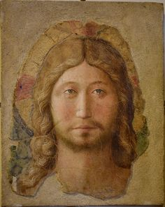 Beato Angelico 1425 ca. Testa di Cristo