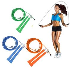 Steel Wire Skipping Adjustable Jump Rope Crossfit Fitnesss US Equipment 3m ** You can get additional details at the affiliate link Amazon.com.