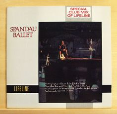SPANDAU BALLET Lifeline - Vinyl 12  Maxi  Special Club Mix Dub-Mix A Cappella