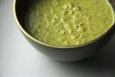 Broccoli Soup: Low Cal, Low Fat, and Gluten Free Cream of Broccoli Soup;   Under 200 Calories, Low Sodium, Super Packed with Vitamin C, and 9g Protein!