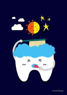 Brushing Teeth on Behance