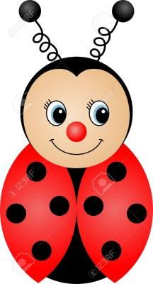 Ladybug Cartoon Stock Photos And Images Art Drawings For Kids, Drawing For Kids, Easy Drawings, Kids Crafts, Diy And Crafts, Arts And Crafts, Ladybug Crafts, Painting For Kids, Doodle Art