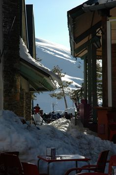 Sierra Nevada, Spain. http://www.costatropicalevents.com/en/active/winter-sports/skiing-at-the-sierra-nevada.html