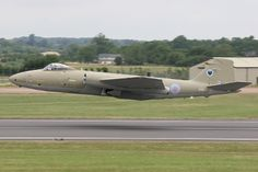 A Canberra keeps it really low on departure from RIAT - Photo taken at Fairford (FFD / EGVA) in England, United Kingdom on July Military Jets, Military Aircraft, Fighter Aircraft, Fighter Jets, English Electric Canberra, V Force, Navy Aircraft, Jet Plane, Royal Air Force
