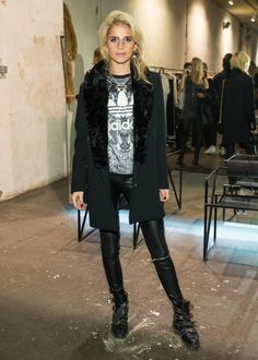 Caro Daur attends will i am's launch party for i.am headphones