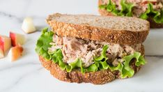 Have you ever wondered why the tuna sandwich from Subway was so incredibly good? Here is their Top Secret Subway Tuna Recipe Tuna Sandwich Recipes, Tuna Recipes, Lunch Box Recipes, Quick Dinner Recipes, Detox Recipes, Seafood Recipes, Lunch Ideas, Detox Foods, Meal Ideas