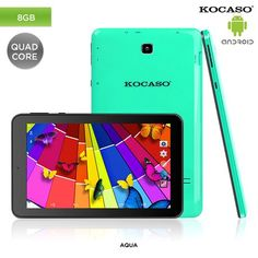 MID Google Android 4.4 Quad-Core 1.2GHz 8GB 7' Dual-Camera Tablet PC & Accessories - Assorted Colors at 78% Savings off Retail!
