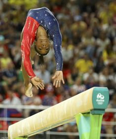 Simon Biles is on course to take home gold in Rio after dominating the gymnastics qualifiers today as Team USA took the lead
