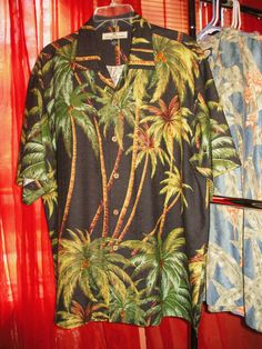 Amazing Vintage Hawaiian Shirt TOMMY BAHAMA  Silk by oldmagicchest