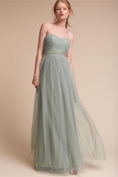BHLDN's Jenny Yoo Annabelle Dress in Seaglass