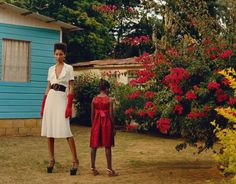 June 2016 | Vogue. The editorial, entitled 'Get Up Stand Up' after Bob Marley's 1973 protest anthem, was shot in rural Jamaica.