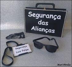 747762b4d8519 Kit Maleta Segurança das Alianças+óculos+crachá personalizado +fone de  ouvido Maleta toda