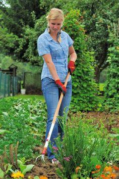 Tuingereedschap zaaien, planten en oogsten
