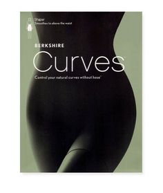 5aab02b92d8bc Berkshire Womens Curves To The Waist Shaper Without Hose 8049 Black 1X2X *  You can find