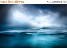 SOLD 20 x Limited Edition Extra large photography Scotland by CrionnaPhotography Seascape Paintings, Landscape Paintings, Abstract Landscape, Abstract Art, Teal Wall Art, Extra Large Wall Art, Diy Canvas Art, Art Plastique, Beach Art