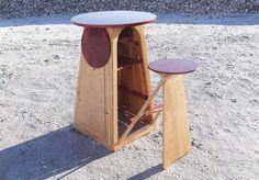 Expandable Quad Micro Bar Table