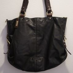Cole Haan soft black leather handbag Like new!!! Excellent condition!! No stains and smoke/pet free home!!  Comes with dust bag. Cole Haan Bags Shoulder Bags
