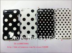 Polka dot cases for iPod 4/Touch