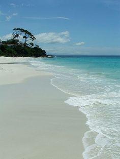 Hyams Beach by Monique Barber, via Flickr