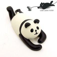 【DECOLE】デコレ コンコンブル ケーブルホルダー ロープ PANDA(パンダ)