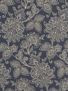 Robert Allen Fabric – Garran Gardens – Hydrangea $35.75 price per yard