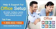 Office.com/setup makes it simpler to get exact responses for every one of your Office issues, with only one call to our qualified support team. To seek support services of office setup, visit installofficehelp or call 1-800- 832-1504.